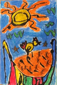Joan Miro Project - 1st Grade