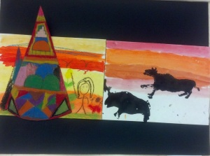 Native American Art- 1st grade (2)