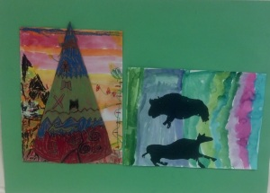 Native American Art- 1st grade