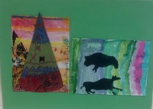 Native American Art- 1st grade