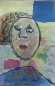 Self-Portraits -Kindergarten