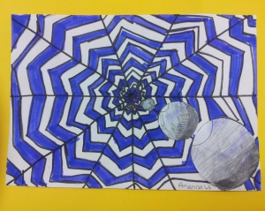 Working with Value and Perspective - 4th Grade